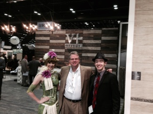 Vitromex booth inside Coverings 2015 Exhibit.
